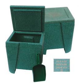 Bournville Divot Box Mottled Green