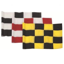 Pattisson 400 Denier Sewn Chequered Tubelock Flags – Set of 9