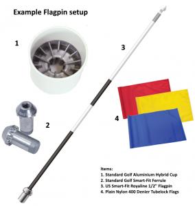 Flagpin Setup