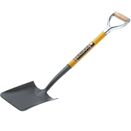 Premier Solid Forged Square Mouth Shovel