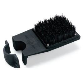 Par Aide Single Pipe Mount Spike Brush