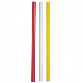 "PVC Round Hazard Marker Removable 32"" (81cm) Long"