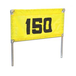 T J Golf Galvanised Steel Banner Frame