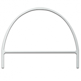 T J Golf Barrier Hoops 8mm White (Priced Each Boxed in 10's)