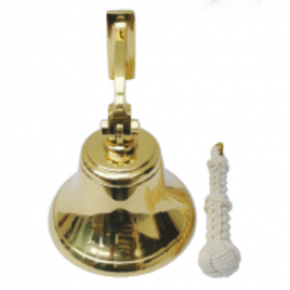 7″ Premium Quality Ships Bell with Lanyard