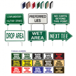 26cm Directional Arrow Double Sided Laminated