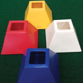 Pattisson Pyramid PVC Tee Bin