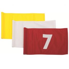 Pattisson Nylon 400 Denier Tublock Numbered Flags – Set of 9 – (1 to 9) or (10 to 18)
