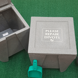 Divot Boxes