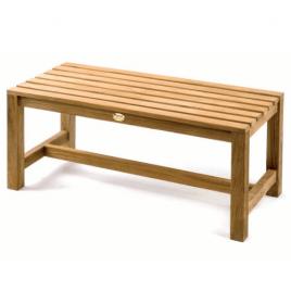 Pattisson Teak Series Junior Bench 1m (39.5″) (Flat Packed)