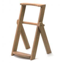 Pattisson Teak Bag Stand