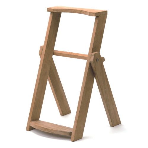 Wooden Bag Stand