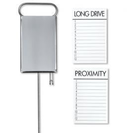 Standard Golf Proximity Markers