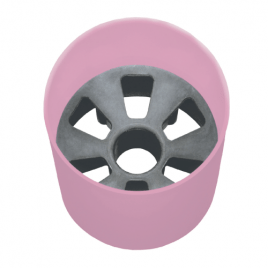 US Aluminium Hole Cups Pink