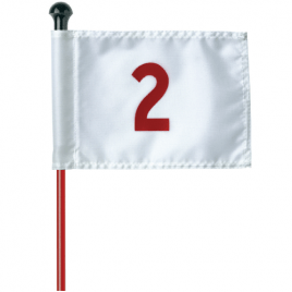 Numbered PGM Flags to fit 1/2″ (13mm) Rods