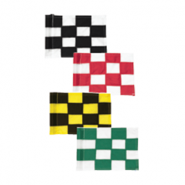 Chequered PGM Flags to fit 1/2″ (13mm) Rods