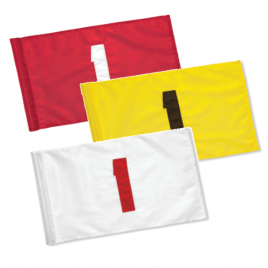 SG Nylon 200 Denier Tublock Numbered Flags – Set of 9 – (1 to 9) or (10 to 18)