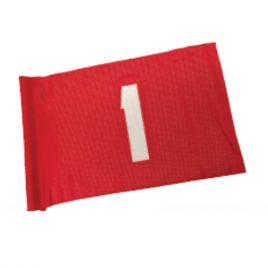 SG Venti-Knit Numbered Tubelock Flags – Set of 9 (1 to 9) or (10 to 18)