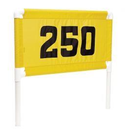 Standard Golf Plastic Steel Banner Frame