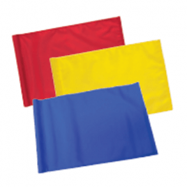 TJ Nylon 400 Denier Plain Tubelock Flags – Set of 9
