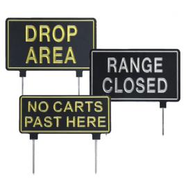 Golf Course Park Signage