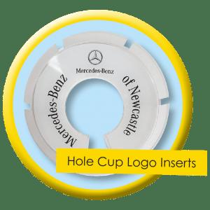 Golf Cup Logo Insert
