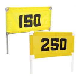 Horizontal Nylon Range Banners – Yellow Black