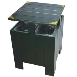 Technowood Combo Recycling Bin