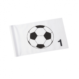 FootGolf Logo Flags (Numbered Tubelock)