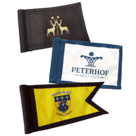 Digitally Printed PGM Golf Flags