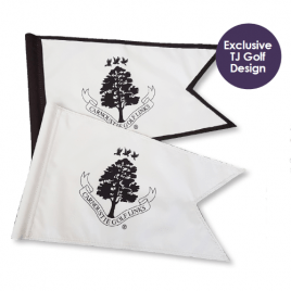 Swallow Tail Logo Golf Flags