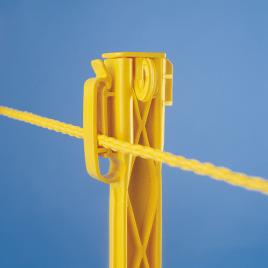 E-Zee Plastic Turf Stakes – Yellow