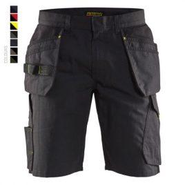 Service shorts with nailpockets