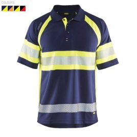 UV Polo Shirt High vis Class 1