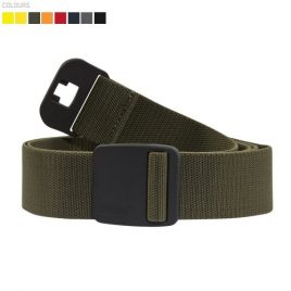 Belt with stretch non metal