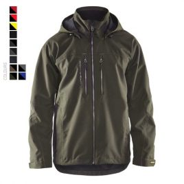 Lightweight lined functional jacket