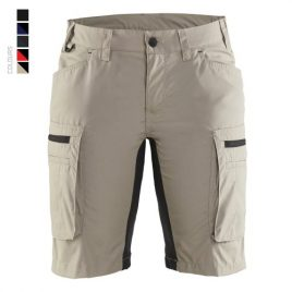 Ladies service shorts with stretch